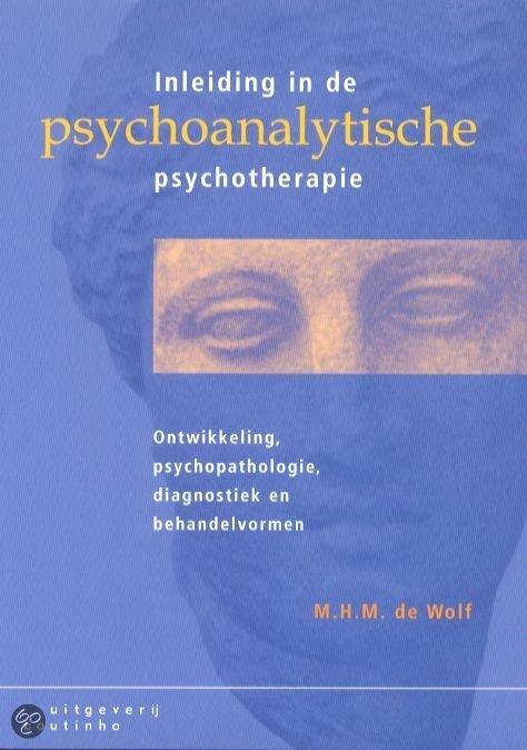 Inleiding in de psychoanalytische psychotherapie