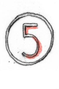 cijfer vijf