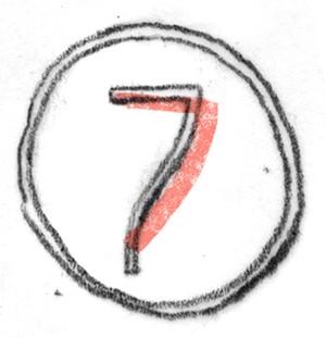 cijfer zeven
