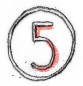 cijfer-vijf
