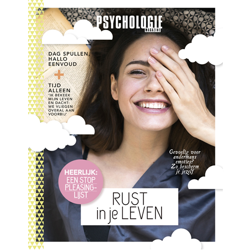 Psychologie Magazine Special Rust in je leven